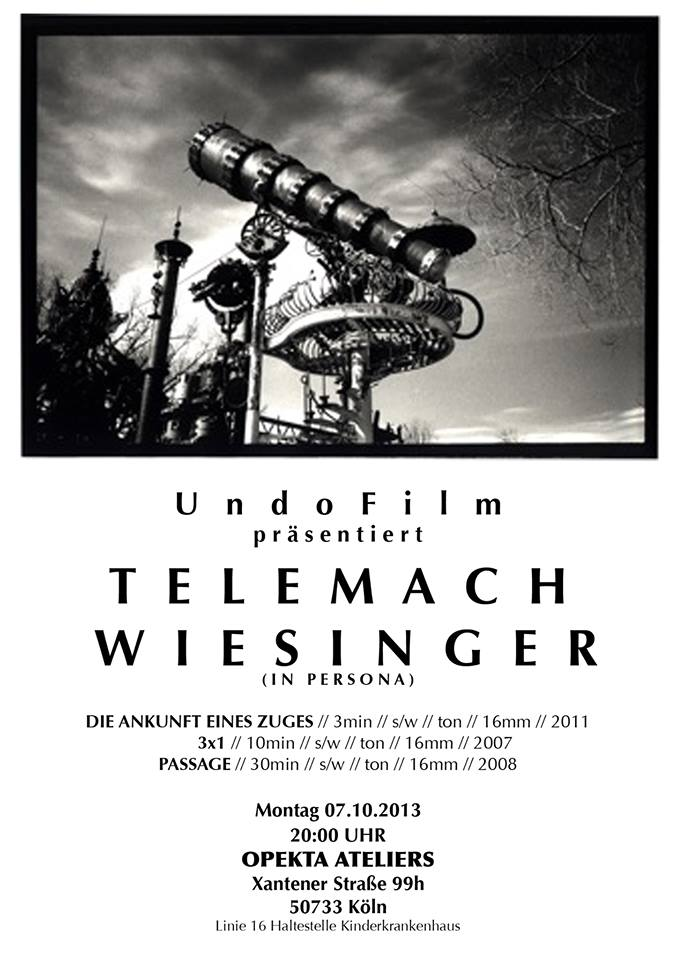 UndoFilm – Screening  // Telemach Wiesinger
